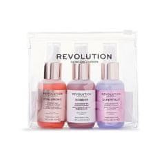 Revolution Skincare Sada pečujících sprejů pro hydrataci pleti Skincare Hello Hydration (Mini Essence Spray Kit) 3 x 50