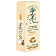 Le Petit Olivier Pleťové sérum proti vráskám s arganovým olejem Anti-Age (Sérum Visage) 30 ml