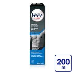 Veet Depilačný krém pre mužov pre citlivú pokožku Men Silk & Fresh 200 ml