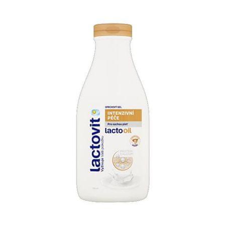 Lactovit Mandljevo olje za (Shower Gel) Intenzivní péče LACTOOIL (Shower Gel) 500 ml