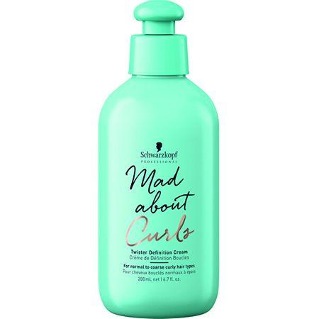 Schwarzkopf Prof. Hidratáló alakformáló krém göndör hajraMad About Curls(Twister Definition Cream) 200 ml