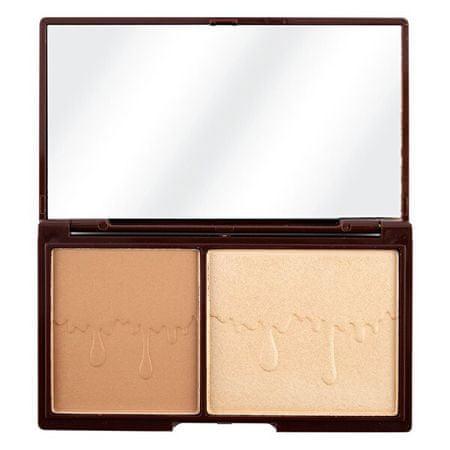I Heart Revolution Arc paletta Csokoládé Bronze és ragyogás 11 g