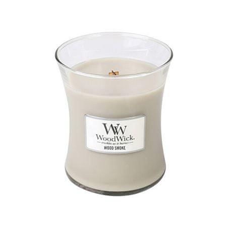 Woodwick Wood Smoke illatgyertya üvegben 275 g