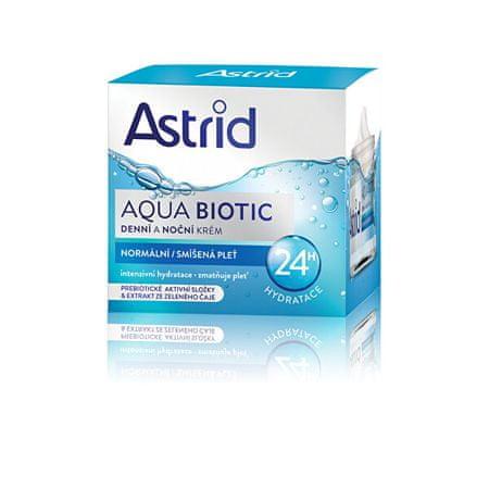 Astrid Dnevna in nočna krema za normalno in kombinirano kožo Aqua Biotic 50 ml