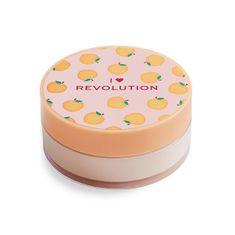 I Heart Revolution Sypký pudr Peach (Loose Baking Powder) 22 g