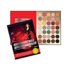 Rude Cosmetics Paletka 35 očních stínů Rudementary Speyeshadow (35 Eyeshadow Palette) 52,5 g