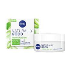 Nivea Bőrvilágosító nappali krémNaturally Good (Day Care Radiance) 50 ml