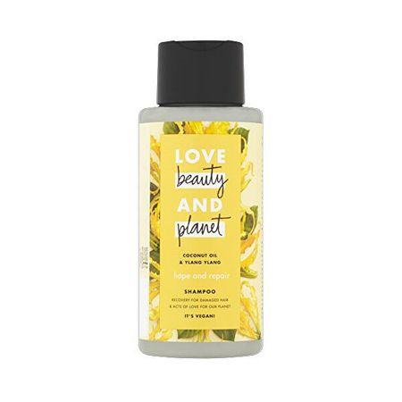 Love Beauty & Planet Šampon za suhe in poškodovane lase z ylang-ylangom in kokosovim oljem (Hope and Repair Shampoo) (Obseg 400 ml)