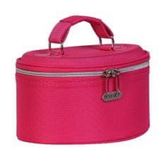 Kozmetický kufrík ružový strednej