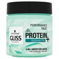 Gliss Kur Hydratačná maska pre poškodené, suché vlasy 4v1 (4-in-1 Moisture Mask) 400 ml