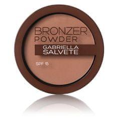 Gabriella Salvete Bronzující pudr SPF 15 Bronzer Powder 8 g