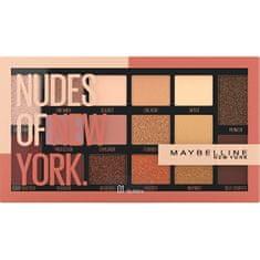 Maybelline Paletka 16 očných tieňov Nudes of New York 18 g