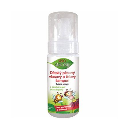 Bione Cosmetics Gyermek habsampon hajra és testre 150 ml