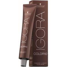 Schwarzkopf Prof. 10 perces állandó hajszín Igor Color 10 (Permanent 10 Minute Color Cream) 60 ml