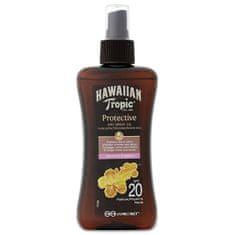 Hawaiian Tropic Suchy olej opalający w sprayu SPF 20 Protective (Dry Spray Oil) 200 ml