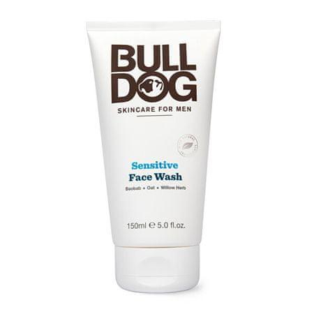 Bulldog Arctisztító gél férfiaknak érzékeny bőrre Bulldog Sensitive Face Wash 150 ml
