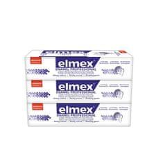 Elmex Zubná pasta Dental Enamel Professional 3 x 75 ml