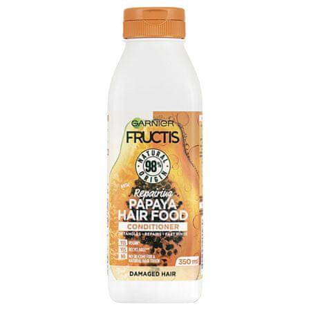 Garnier Fructis Hair Żywność regenerująca odżywka do zniszczonych Hair ( Papaya Repair ing Conditioner) 350