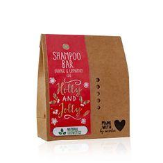 Accentra Tuhý šampon pomeranč a skořice Holly & Jolly (Shampoo Bar) 60 g