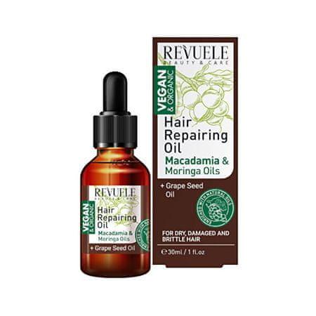 Revuele Oil & Macadamia i Moringa Ekstrakty Uroda i Care ( Hair Repair ing Oil) 30 ml
