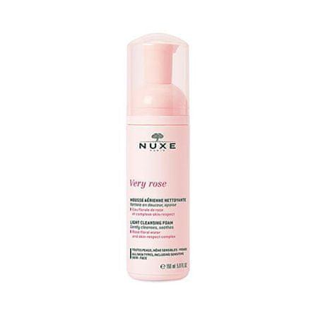Nuxe Very Rose (Light Cleansing Foam) 150 ml könnyű tisztító hab minden bőrtípusra