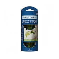 Yankee Candle Náhradná náplň do elektrického difuzéru Organic Kit Vanilla Lime 2 x 18,5 ml