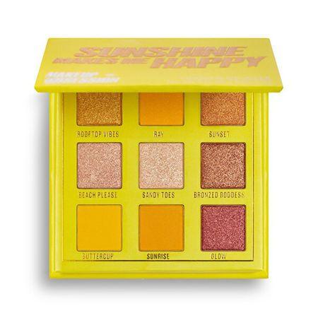 Makeup Obsession Paleta cieni do powiekSun połysk sprawia, że mnieHappy ( Palette)Shadow ( Palette) 11,7 g