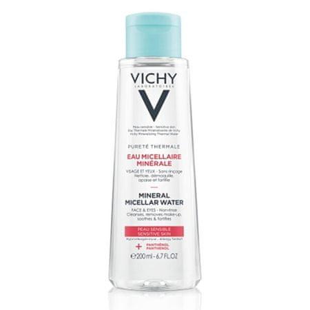 Vichy Mineralna micelarna voda za občutljivo kožo Pure té Thermale ( Mineral Micellar Water) (Objem 200 ml)