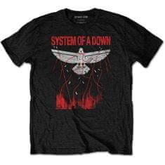 Tričko Dove Overcome S unisex černé