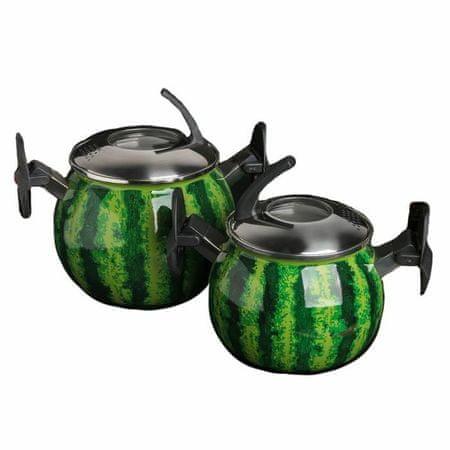 """Kraftika Készlet serpenyők """"görögdinnye"""" 2 db 2/3, 5 l"""