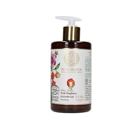 Flora Siberica Arctic Raspberry Nourishing Gel za prhanje ( Nourish ing Shower Gel) 480 ml