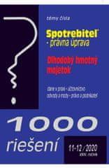 1000 riešení 11-12/2020 - Ochrana spotrebiteľa, Dlhodobý hmotný majetok, Verejné obstarávanie