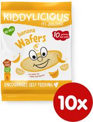 Kiddylicious Ryžové oblátky - Banán - 10x4g