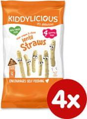Kiddylicious Tyčinky šošovicové so smotanou a pažítkou 4x15 g