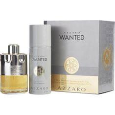 Azzaro Wanted - EDT 100 ml + dezodor spray 150 ml