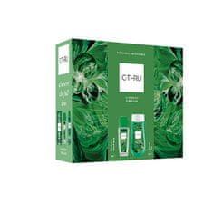 C-Thru Luminous Emerald - deodorant s rozprašovačem 75 ml + sprchový gel 250 ml