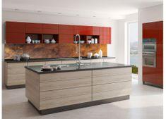 Dimex Fototapeta do kuchyne KI-350-105 Medený obklad 60 x 350 cm