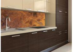 Dimex Fototapeta do kuchyne KI-180-105 Medený obklad 60 x 180 cm