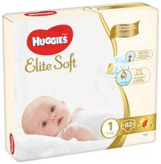 Huggies Elite Soft 1 Newborn (3-5 kg) 82 ks