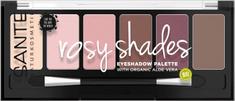 SANTE Naturkosmetik Minerálne očné tiene Palette rosy shades - 6g