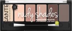 SANTE Naturkosmetik Minerálne očné tiene Palette nudy shades - 6g