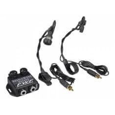 FWF FWF-MDA22 Dvojitý mikrofón na nástroje