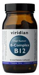 VIRIDIAN nutrition B-Complex B12 High Twelwe 90 kapslí