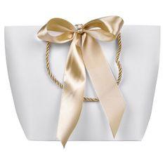 Troli Darilna vrečka z zlatim trakom