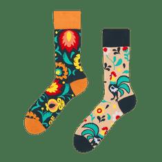 Good mood GMRS135 veselé ponožky - kohout Barva: oranžová, Velikost oblečení: 39-42