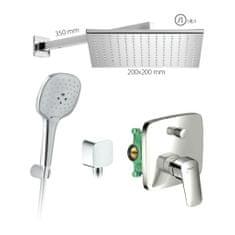 HANSGROHE HG SET 7 - Sprchový systém pod omietku, Logis, páková batéria- kompletná sada