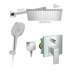 HANSGROHE HG SET 8 - Sprchový systém pod omietku, Metropol, páková batéria- kompletná sada
