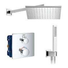 Grohe Grohe Grohtherm SET 1 - Sprchový systém pod omietku, Grohtherm, termostatický- kompletná sada