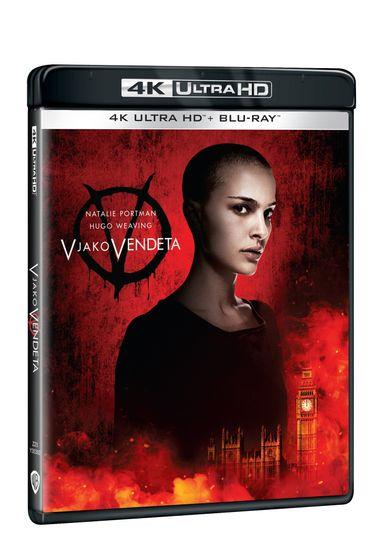 V jako Vendeta (2 disky) - Blu-ray + 4K Ultra HD