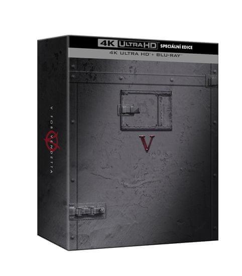 V jako Vendeta: Speciální edice (2 disky) - Blu-ray + 4K Ultra HD